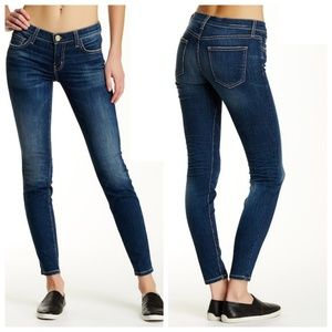 Current Elliot Ankle Skinny in Union Size 27